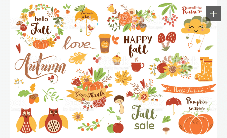 70+ Best Fall & Autumn Clip Art Collection in 2020 - fall autumn clipart 2020 08