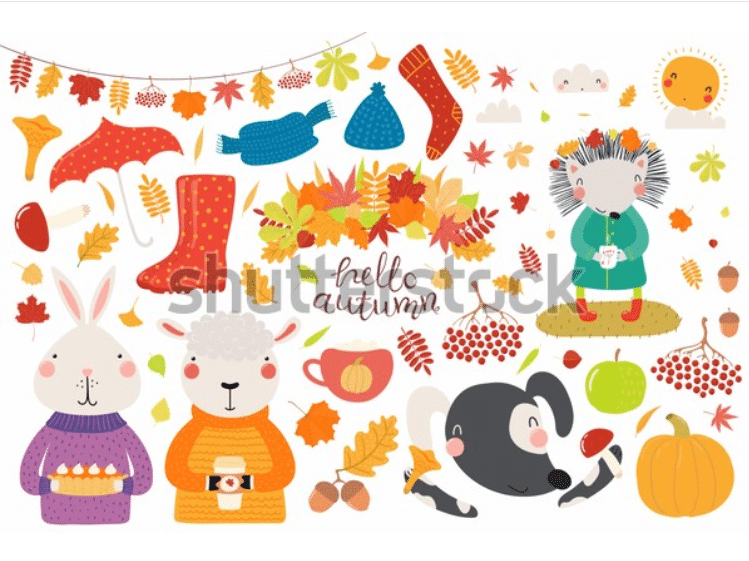 70+ Best Fall & Autumn Clip Art Collection in 2020 - fall autumn clipart 2020 16
