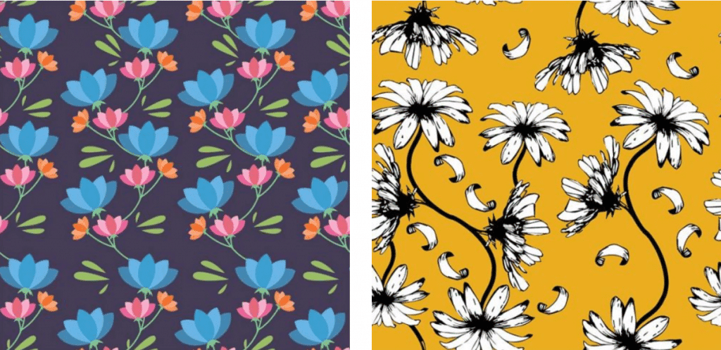 🌼 Floral Pattern Trends in 2020: PNG, Vector, Vintage, Wallpapers - floral patterns 2020 02