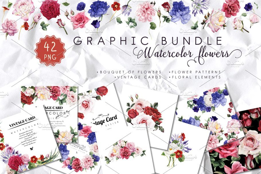 🌼 Floral Pattern Trends in 2020: PNG, Vector, Vintage, Wallpapers - floral patterns 2020 07