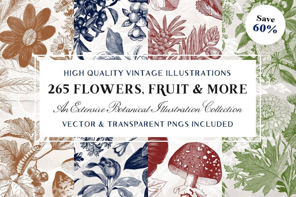 🌼 Floral Pattern Trends in 2020: PNG, Vector, Vintage, Wallpapers - floral patterns 2020 08