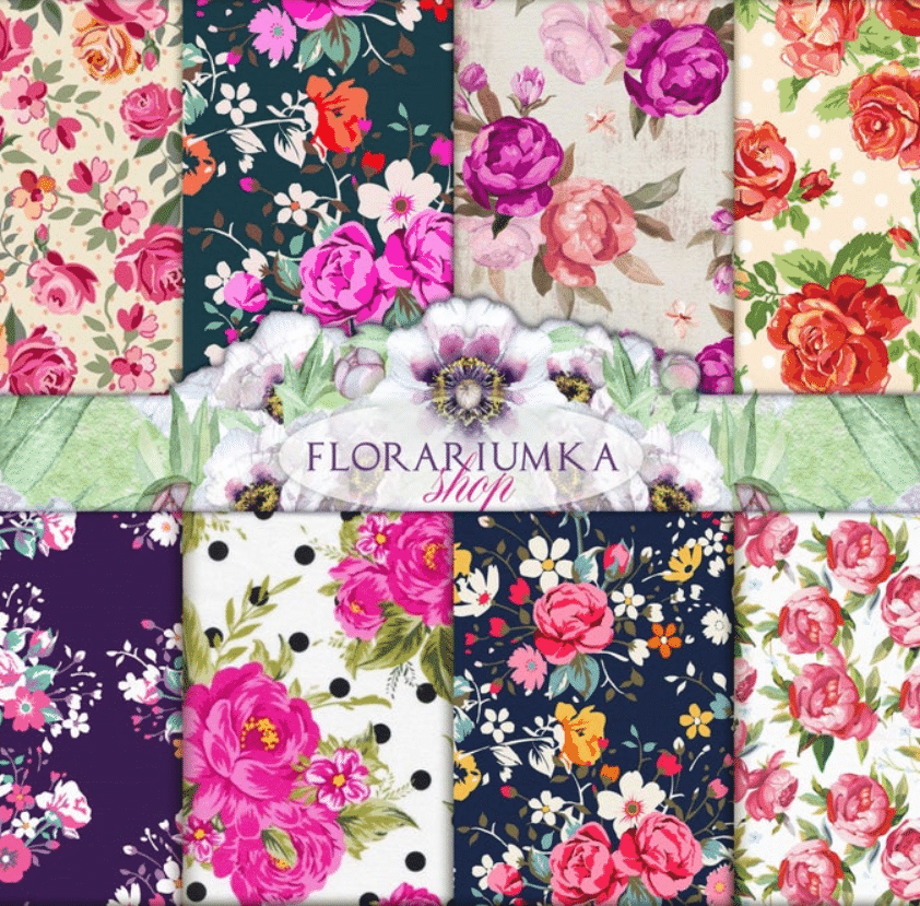 🌼 Floral Pattern Trends in 2020: PNG, Vector, Vintage, Wallpapers - floral patterns 2020 10