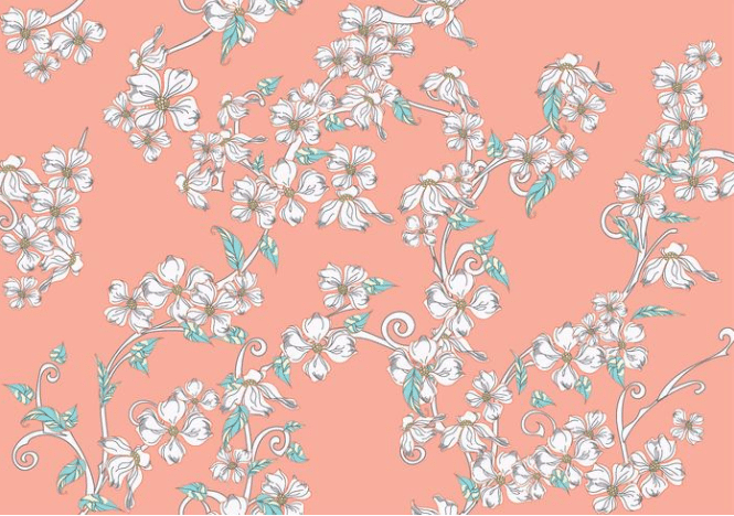 🌼 Floral Pattern Trends in 2020: PNG, Vector, Vintage, Wallpapers - floral patterns 2020 16