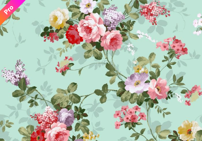 🌼 Floral Pattern Trends in 2020: PNG, Vector, Vintage, Wallpapers - floral patterns 2020 17