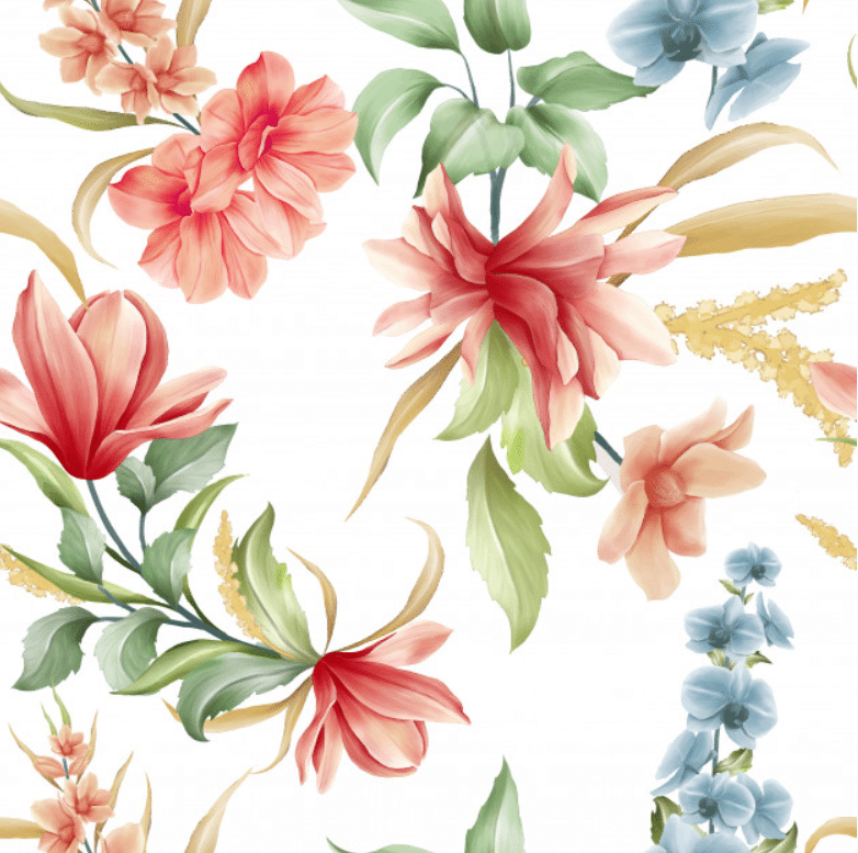 🌼 Floral Pattern Trends in 2020: PNG, Vector, Vintage, Wallpapers - floral patterns 2020 18