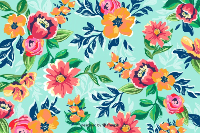 🌼 Floral Pattern Trends in 2020: PNG, Vector, Vintage, Wallpapers - floral patterns 2020 19