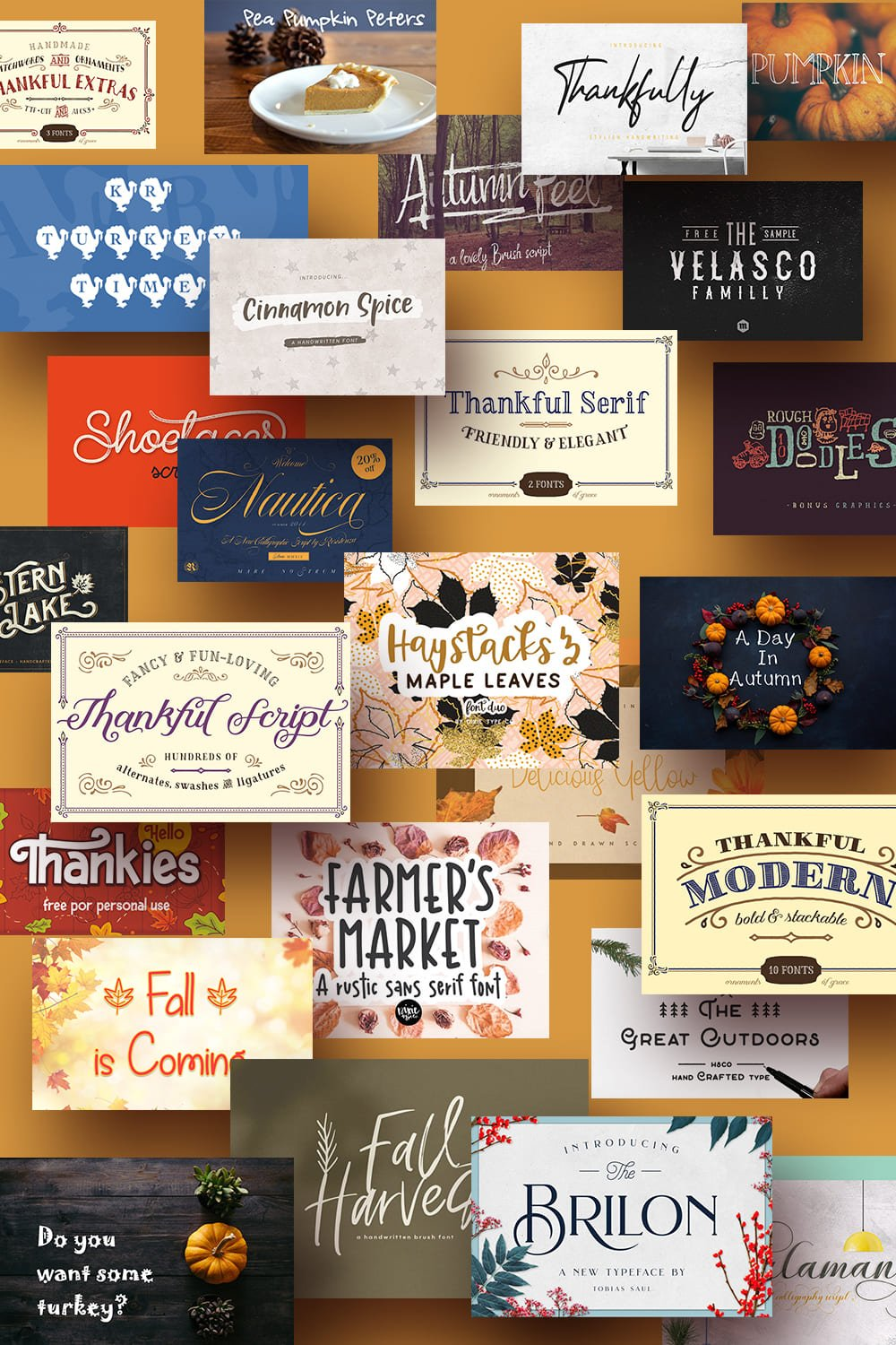 90+ Free Thanksgiving Fonts 2020 [Updated] - free thanksgiving fonts pinterest