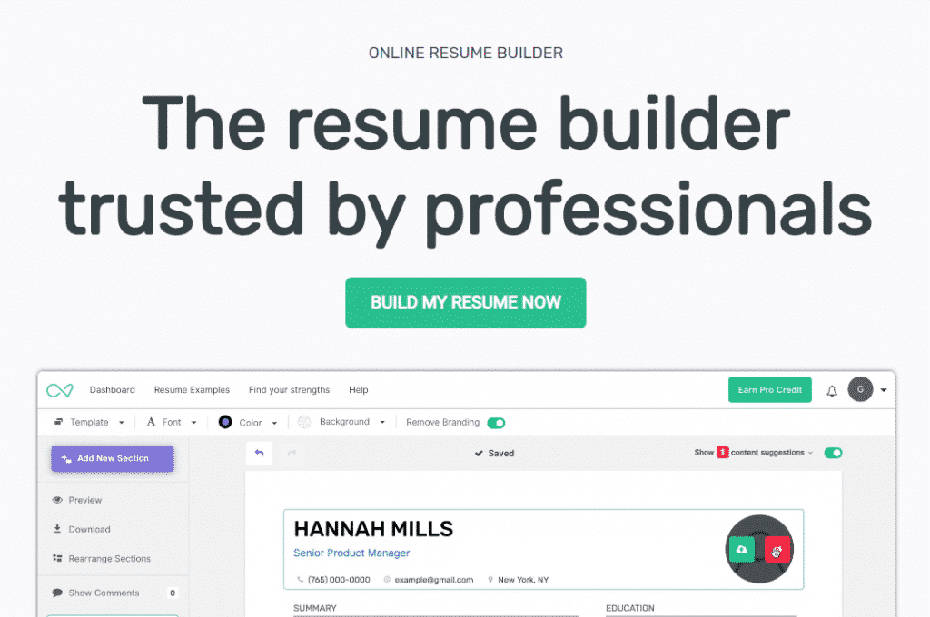 """I Can't Find A Job"". Best CV Templates and Resume Constructors for All Occasions in 2020 - i cant find a job 18"