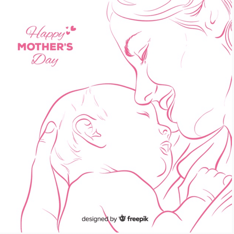 50+ Mother's Day Designs 2020: Graphics, Cards, Clipart, Fonts, Backgrounds, and Photos - image17