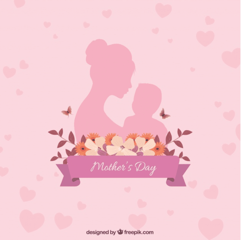 50+ Mother's Day Designs 2020: Graphics, Cards, Clipart, Fonts, Backgrounds, and Photos - image34