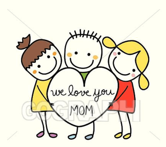 50+ Mother's Day Designs 2020: Graphics, Cards, Clipart, Fonts, Backgrounds, and Photos - image37