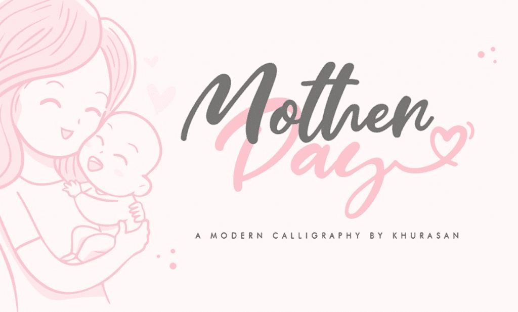 50+ Mother's Day Designs 2020: Graphics, Cards, Clipart, Fonts, Backgrounds, and Photos - image45