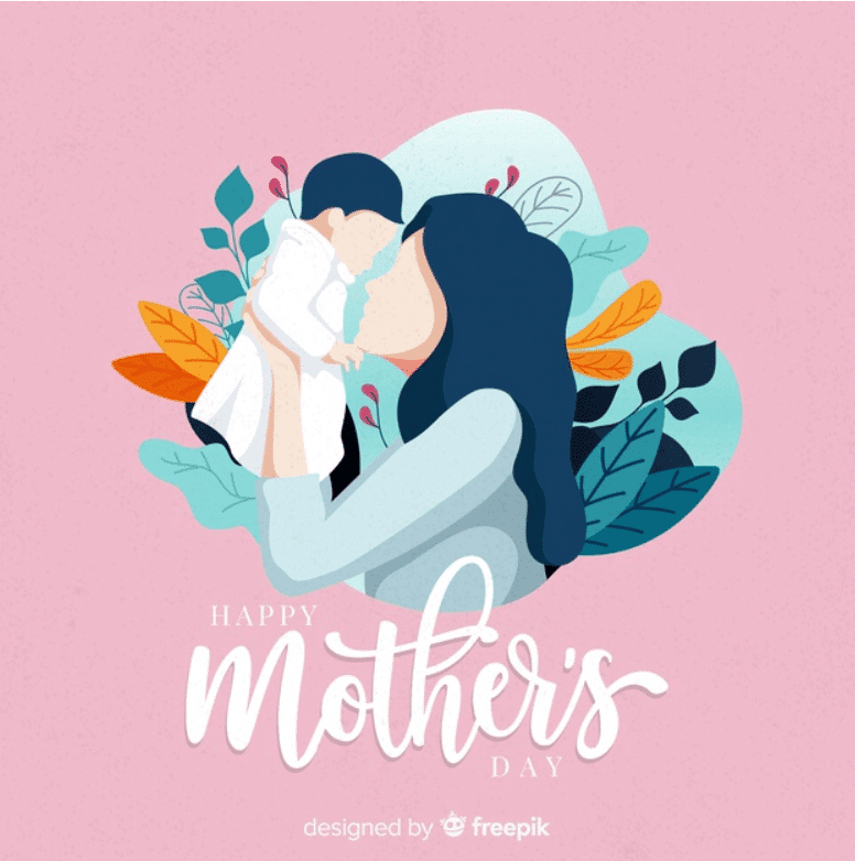 50+ Mother's Day Designs 2020: Graphics, Cards, Clipart, Fonts, Backgrounds, and Photos - image55