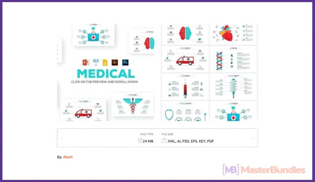 🚑 20+ Medical Infographic Templates, Presentations And Images In 2020 - medical infographic 2020 01