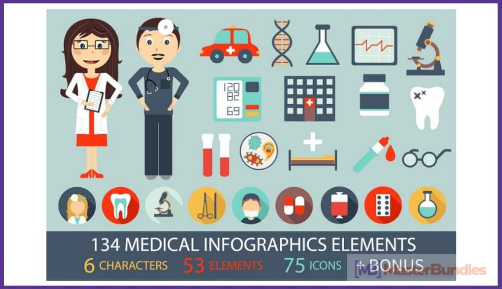🚑 20+ Medical Infographic Templates, Presentations And Images In 2020 - medical infographic 2020 07