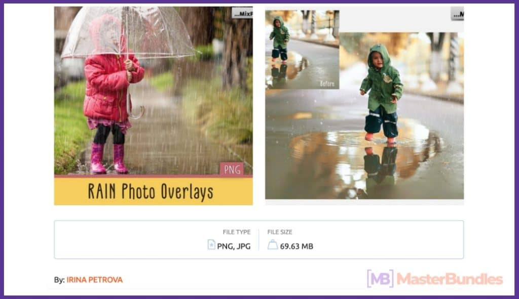 Rain Overlay: A Must-have in Your Effects Collection - page 01 62