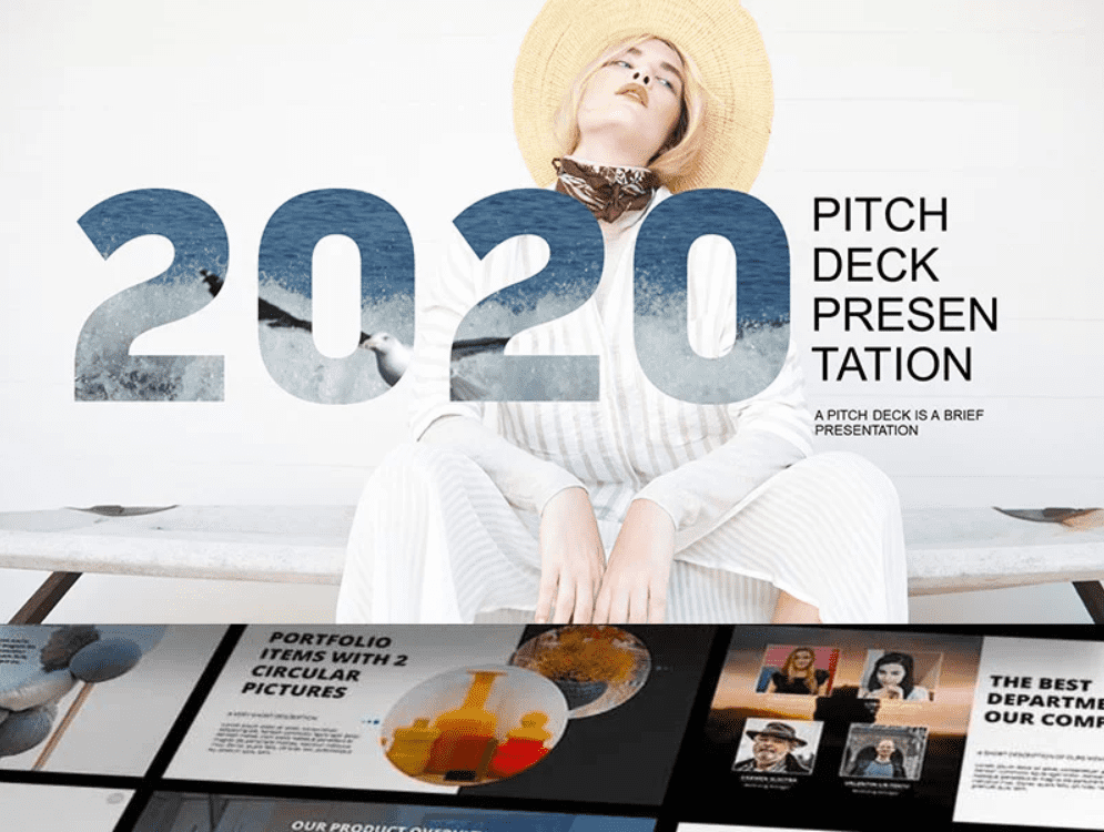 45+ Pitch Deck Powerpoint Templates in 2020: Free and Premium. How To Create A Pitch Deck - pitch deck templaes 12