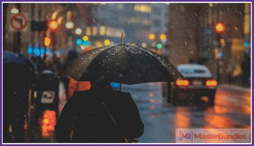 Rain Overlay: A Must-have in Your Effects Collection - rain overlay 01