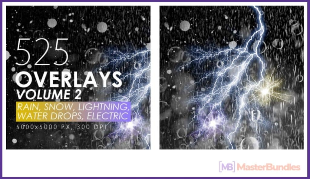 Rain Overlay: A Must-have in Your Effects Collection - rain overlay 03
