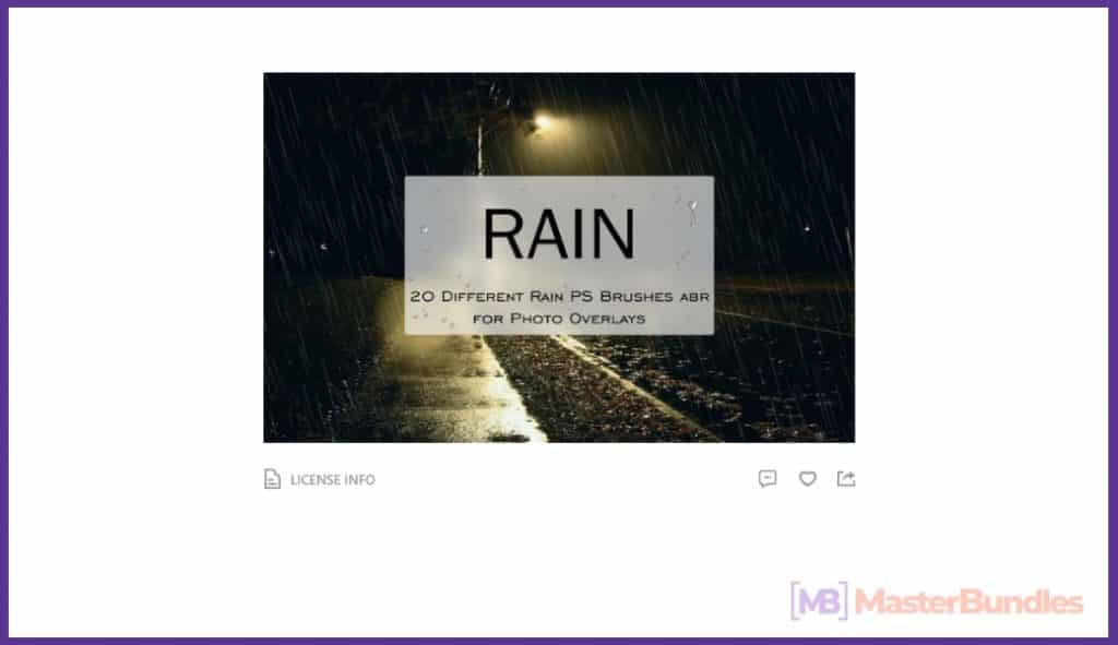 Rain Overlay: A Must-have in Your Effects Collection - rain overlay 04