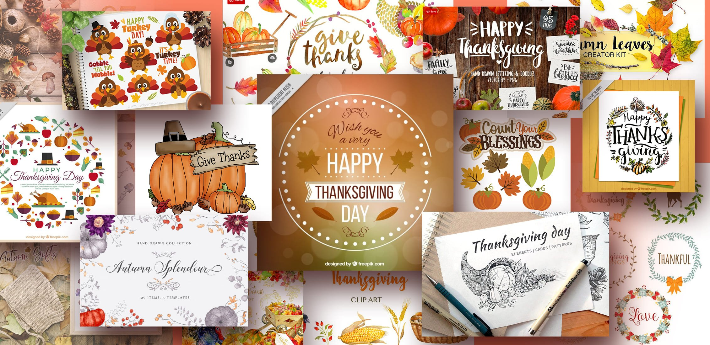 Examples Thanksgiving Clipart.
