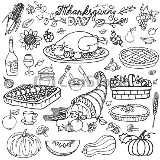 🦃 Thanksgiving Clipart In 2020: Tune Up Your Festive Mood - thanksgiving clipart 2020 18