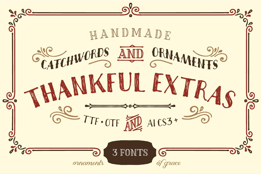 60+ Free Thanksgiving Fonts 2020 [Updated] - thanksgiving fonts 2020 02