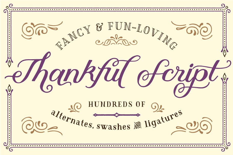 60+ Free Thanksgiving Fonts 2020 [Updated] - thanksgiving fonts 2020 04