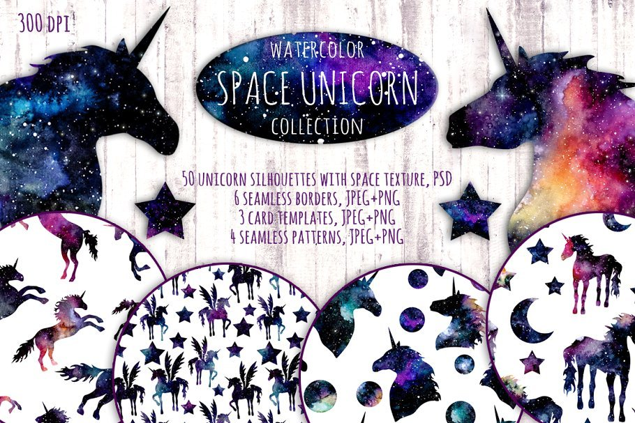 50+ Best Unicorn Background & Patterns in 2020: Free And Premium - unicorn backgrounds patterns 2020 01