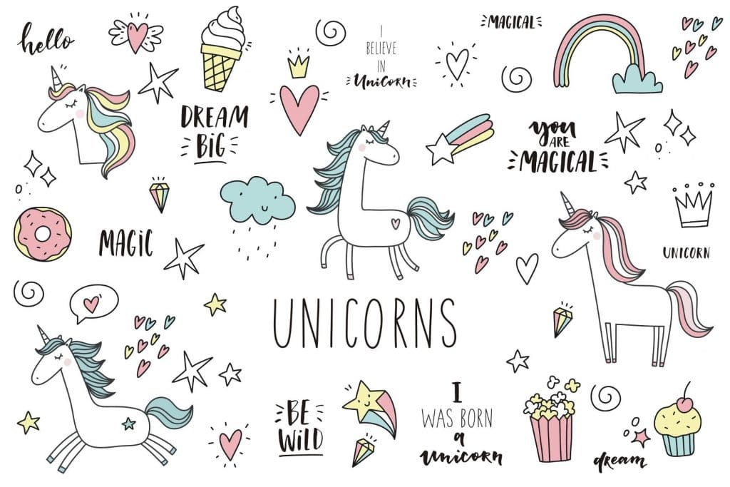 50+ Best Unicorn Background & Patterns in 2020: Free And Premium - unicorn backgrounds patterns 2020 05