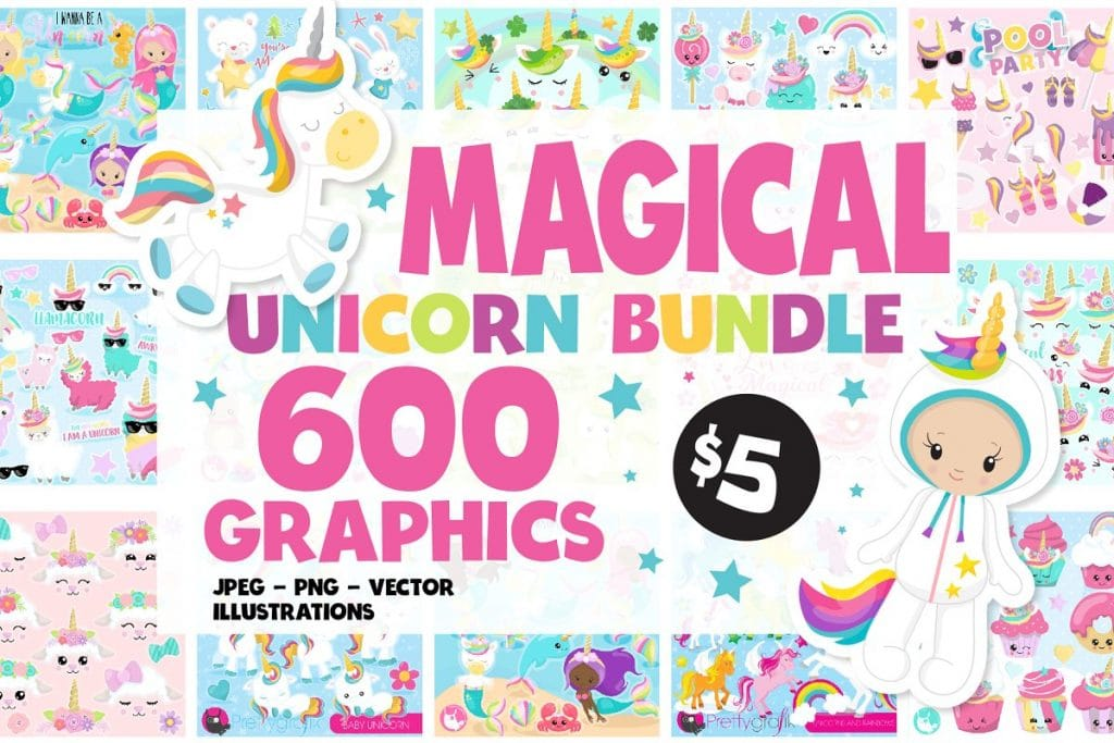 50+ Best Unicorn Background & Patterns in 2020: Free And Premium - unicorn backgrounds patterns 2020 07