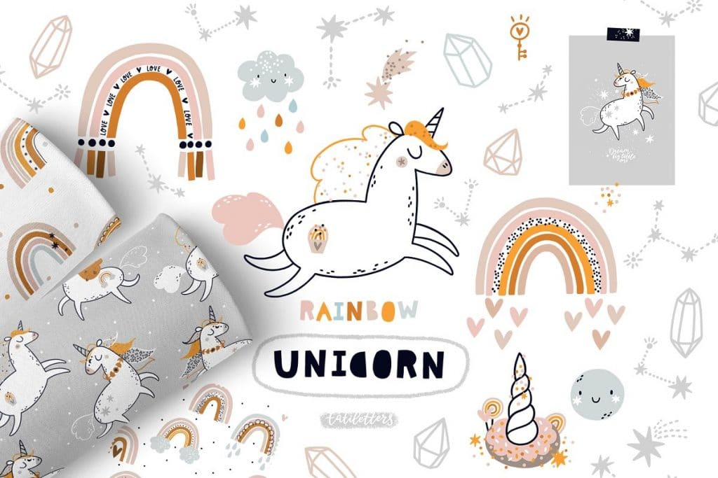 50+ Best Unicorn Background & Patterns in 2020: Free And Premium - unicorn backgrounds patterns 2020 08
