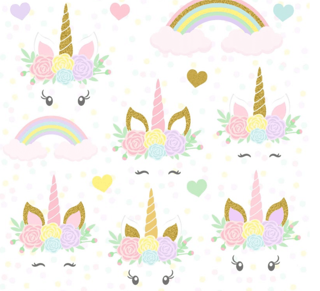 50+ Best Unicorn Background & Patterns in 2020: Free And Premium - unicorn backgrounds patterns 2020 10