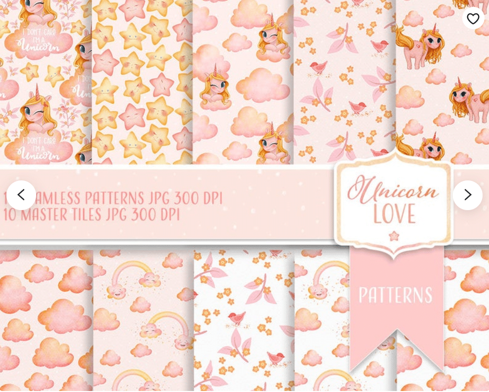 50+ Best Unicorn Background & Patterns in 2020: Free And Premium - unicorn backgrounds patterns 2020 11