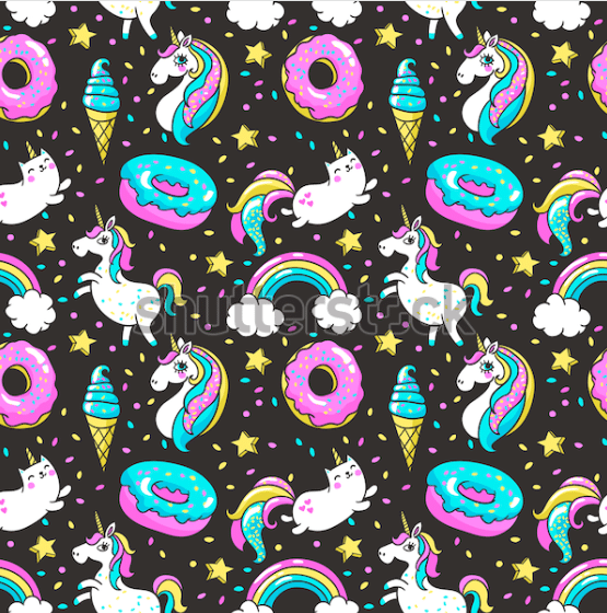 50+ Best Unicorn Background & Patterns in 2020: Free And Premium - unicorn backgrounds patterns 2020 13