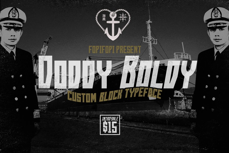 10 Best Military Fonts - Add Military Vibe to Your Project - Doddy Boldy Typeface