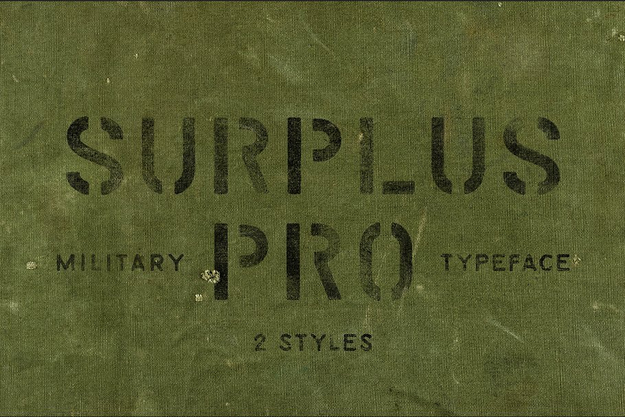 10 Best Military Fonts - Add Military Vibe to Your Project - Surplus Pro 2 Styles