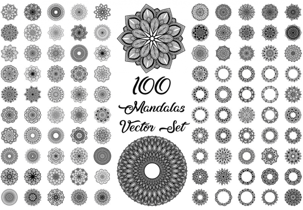 Mandala Designs in 2020: Illustrations, Patterns, Trends. Mandala Creator Online and Free Simple - best mandala patterns 2020 04