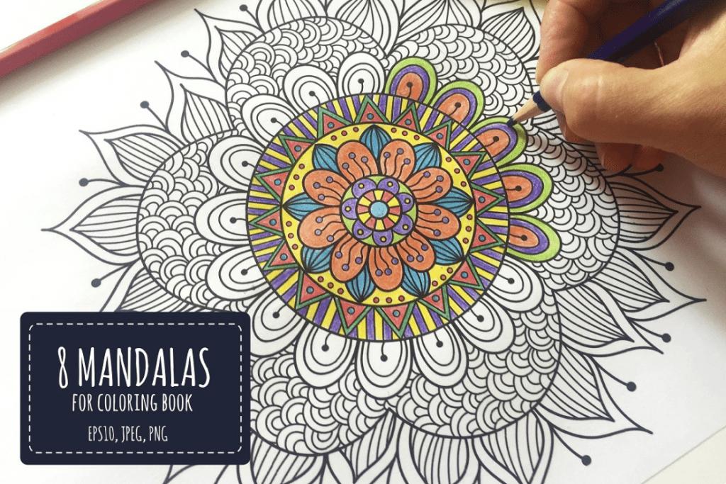 Mandala Designs in 2020: Illustrations, Patterns, Trends. Mandala Creator Online and Free Simple - best mandala patterns 2020 05