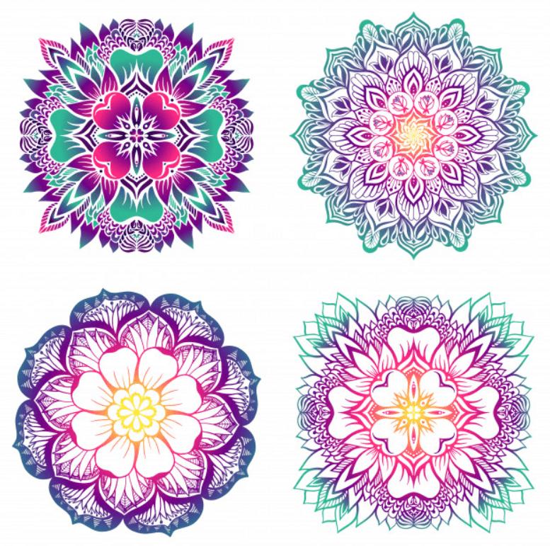 Mandala Designs in 2020: Illustrations, Patterns, Trends. Mandala Creator Online and Free Simple - best mandala patterns 2020 13
