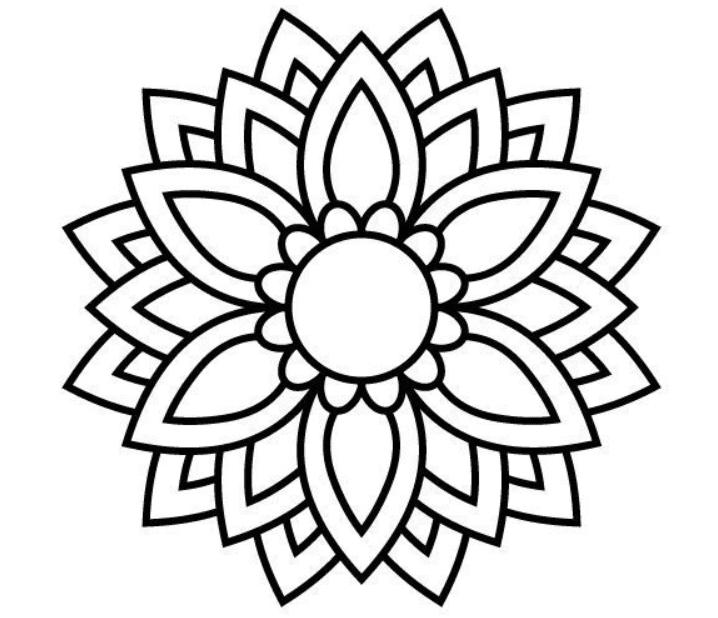 Mandala Designs in 2020: Illustrations, Patterns, Trends. Mandala Creator Online and Free Simple - best mandala patterns 2020 26