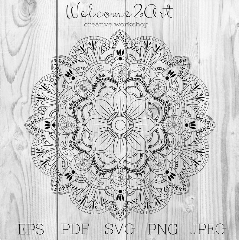 Mandala Designs in 2020: Illustrations, Patterns, Trends. Mandala Creator Online and Free Simple - best mandala patterns 2020 29