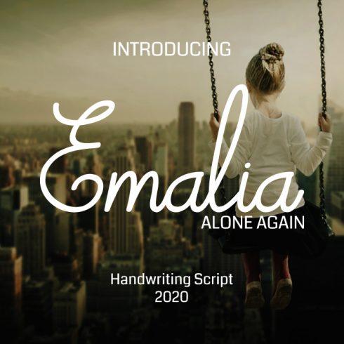 Emalia Font Family: Handwritten Sharpie Fonts - emalia 680 490x490