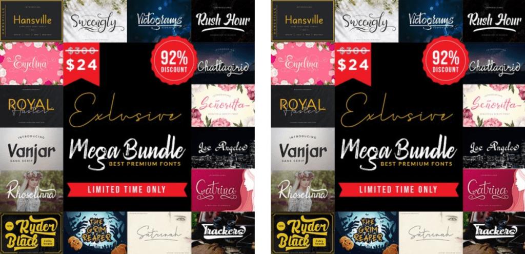 Top 60 Greatest Typographers and Typography Trends 2020 - fonts typographers bundles 02