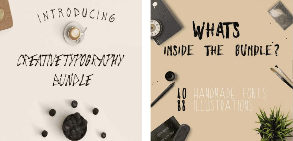 Top 60 Greatest Typographers and Typography Trends 2020 - fonts typographers bundles 03