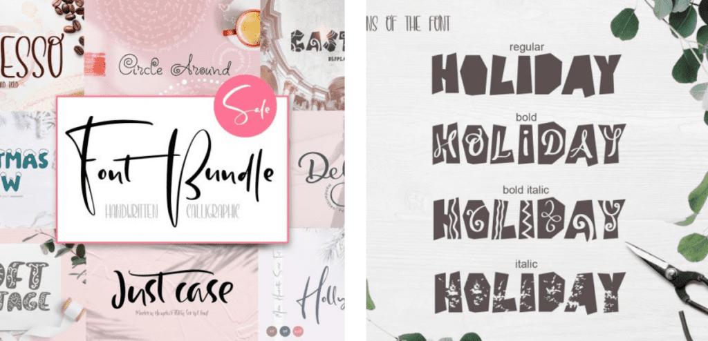 Top 60 Greatest Typographers and Typography Trends 2020 - fonts typographers bundles 05
