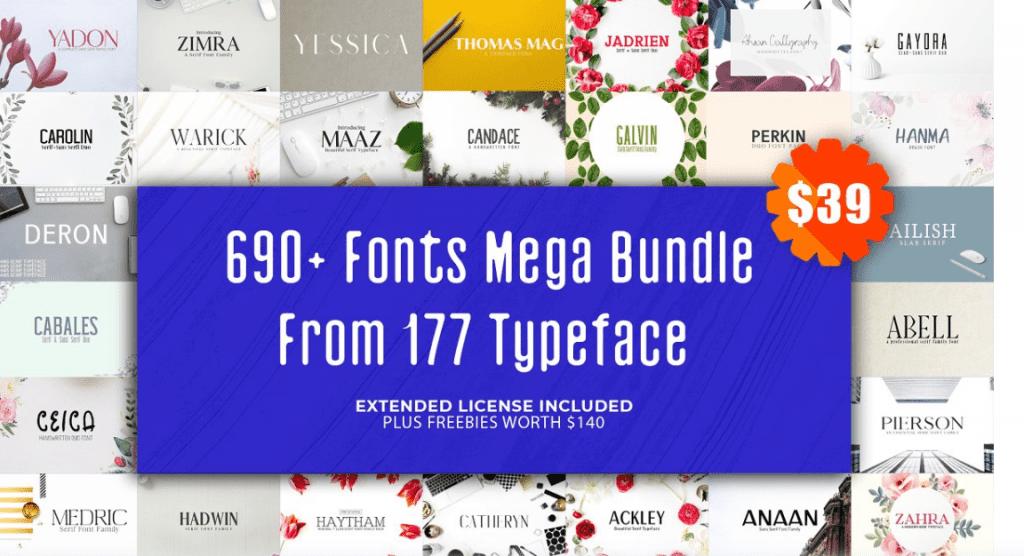 Top 60 Greatest Typographers and Typography Trends 2020 - fonts typographers bundles 06