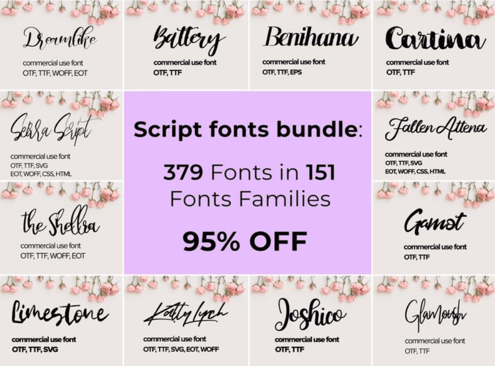 Top 60 Greatest Typographers and Typography Trends 2020 - fonts typographers bundles 09