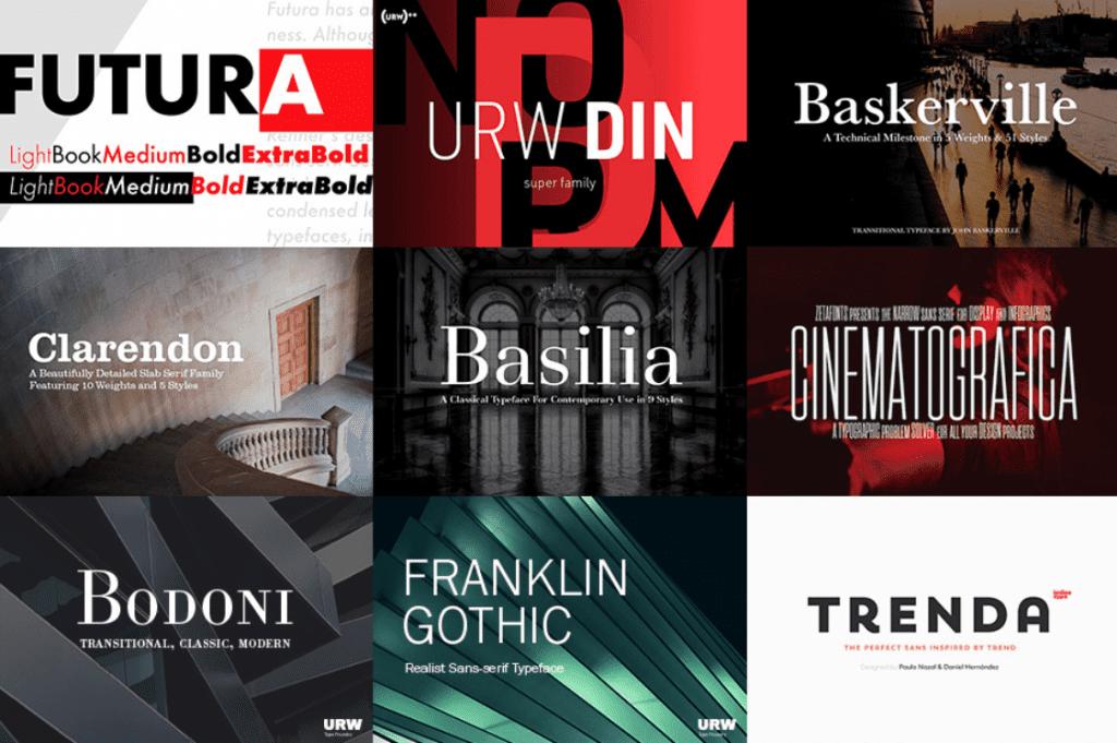 Top 60 Greatest Typographers and Typography Trends 2020 - fonts typographers bundles 10