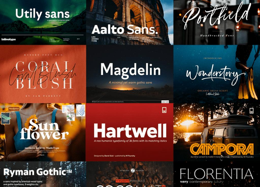 Top 60 Greatest Typographers and Typography Trends 2020 - fonts typographers bundles 11
